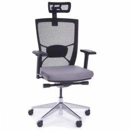 RAUMAN Kancelářská židle Marion šedá
