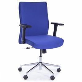 RAUMAN Kancelářská židle Pierre modrá