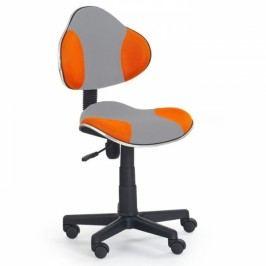 Halmar Flash 2 kancelářská židle oranžová
