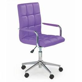 Halmar - Gonzo 2 fialová kancelářské křeslo fialová