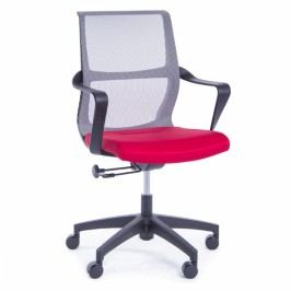 RAUMAN Kancelářská židle Leonard červená