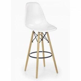 Halmar Barová židle H-51 bílá