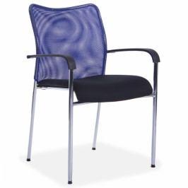 Konferenční židle John modrá
