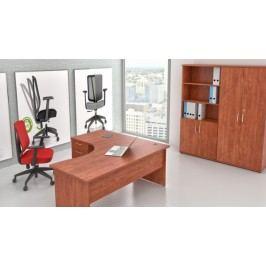 Sestava kancelářského nábytku Visio 10 calvados