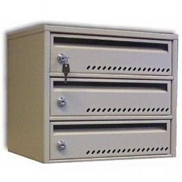 Modulová poštovní schránka TG-2SMC4, 3 boxy