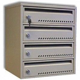 Modulová poštovní schránka TG-3SMC4, 4 boxy
