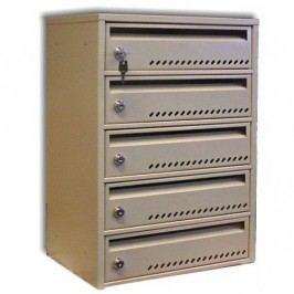 Modulová poštovní schránka TG-4SMC4, 5 boxů