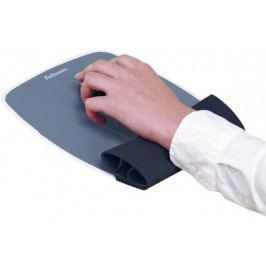 Fellowes silikonová podložka pod myš a zápěstí černá