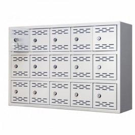 Víceboxová skříň 80,5 světle šedá - ral 7035