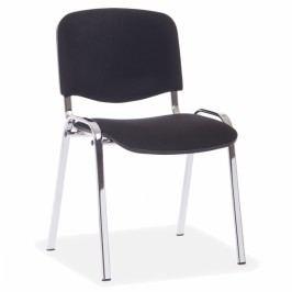 Halmar Konferenční židle Viva - chromované nohy černá