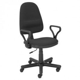 Pracovní židle Bravo černá