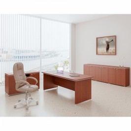 Sestava kancelářského nábytku TopOffice 4 višeň
