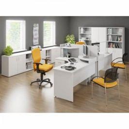 Sestava kancelářského nábytku Impress White 1