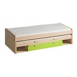 Dolmar Dětská postel s přistýlkou a úložným prostorem LORENTO L16
