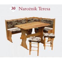 Rohová lavice TERESA 110 x 150 cm
