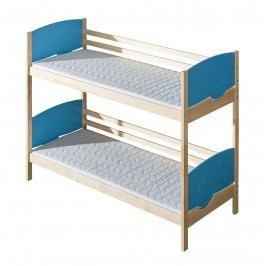 Domel Patrová postel rodělitelná s úložným prostorem TRIO