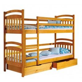 Dolmar Patrová postel s úložným prostorem IREK