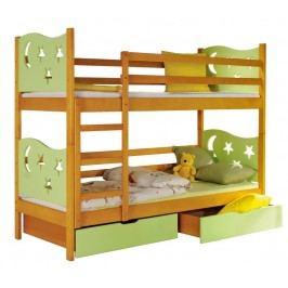 Dolmar Patrová postel s úložným prostorem JAREK