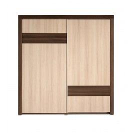 Skříň 2D s posuvnými dveřmi SCALA
