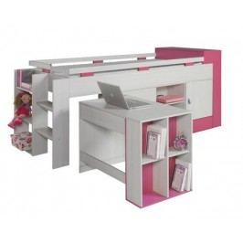 Patrová postel palanda s psacím stolem KOMI KM16