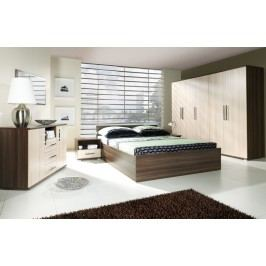 Ložnice s matrací INEZ PLUS