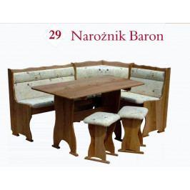 Rohová lavice BARON 125 x 165 cm