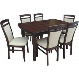 Swierczynski Rozkládací jídelní stůl NEPTUN 140x80 + 40