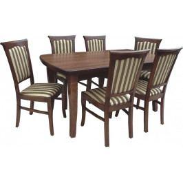 Swierczynski Rozkládací jídelní stůl NEPTUN 120x90 + 4x50