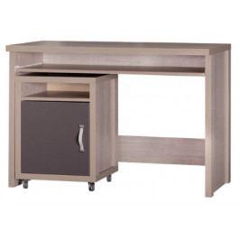 Mlot Psací stůl s úložným prostorem DYZIO DZ10+DZ8 Mlot
