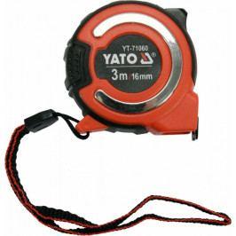 Svinovací metr 3m s magnetickou koncovkou, šířka 16mm - YT-71060   Yato