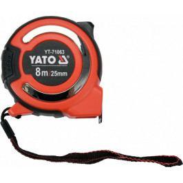 Svinovací metr 8 m s magnetickou koncovkou, šířka 25 mm - YT-71063   Yato