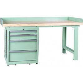 Pracovní stůl se skříňkou BR1004SADA   Torin BIG RED