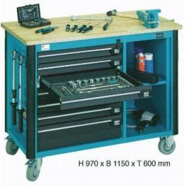 Pojízdný dílenský stůl 179W-5 - HA145348 | Hazet