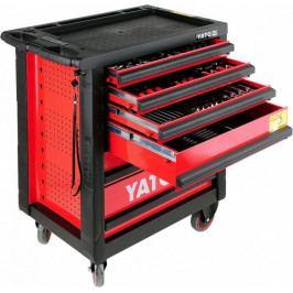 Skříňka dílenská pojízdná s nářadím (177ks) 6 zásuvek YATO YT-5530 | Yato