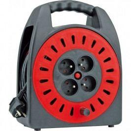 Prodlužovací kabel na bubnu 30 m 4 zásuvky typ E buben - TO-72573   Toya