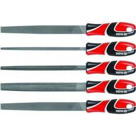 Sada pilníků zámečnických 250 mm 5 ks - YT-6238 | Yato
