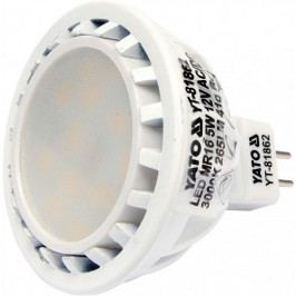LED žárovka 5W MR16 265 lumen 12V ( 25W ) | Yato