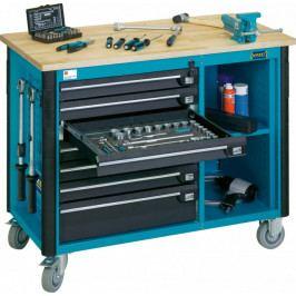 Pojízdný dílenský stůl vybavený - HA164790 | Hazet