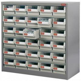Kovový organizér dílenský s 30 zásuvkami pro náročné použití - HD-530 | Shuter