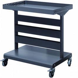 Malý kovový vozík pro uložení závěsných pořadačů / boxů na díly, materiál a nářadí - MS-HC | Shuter