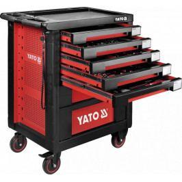 Pojízdná montážní skříň 7 zásuvek 189ks nářadí YT-55292 | Yato