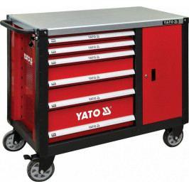 Dílenská skříňka na nářadí, 6 šuplíků, YT-09002 | Yato