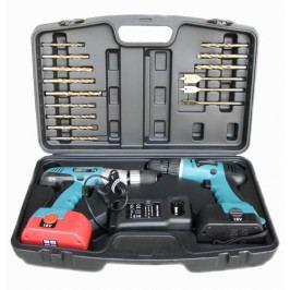 Set AKU vrtačky a šroubováku s vrtáky, 21 dílů - AH090102 | ZealoT Tools