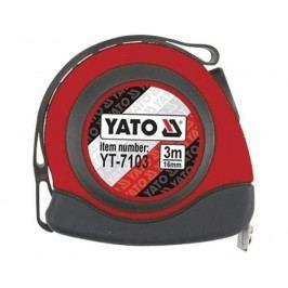 Metr svinovací 5 m x 19 mm autostop - YT-7105   Yato