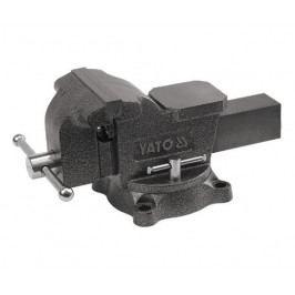 Svěrák zámečnický otočný 200 mm 21 kg - YT-6504 | Yato