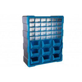 Plastový organizér / box na šroubky, 39 rozdělovníků - MW1501 | AHProfi