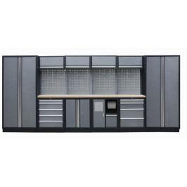 Kvalitní PROFI dílenský nábytek - 4535 x 2000 x 465 mm - TGS1301AE | Torin BIG RED