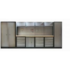 Kvalitní PROFI dílenský nábytek 4235 x 458 x 2000 mm - TGS1300A5 | Torin BIG RED