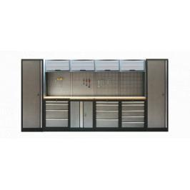 Kvalitní PROFI dílenský nábytek 3920 x 465 x 2000 mm - TGS1300A9 | Torin BIG RED