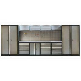 Kvalitní PROFI dílenský nábytek - 4535 x 2000 x 465 mm - TGS1300A11 | Torin BIG RED